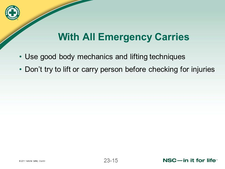 With All Emergency Carries