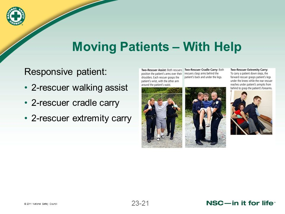 Moving Patients – With Help
