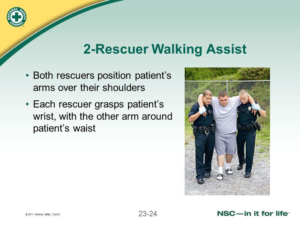 2-Rescuer Walking Assist