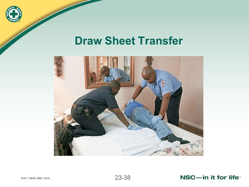 Draw Sheet Transfer