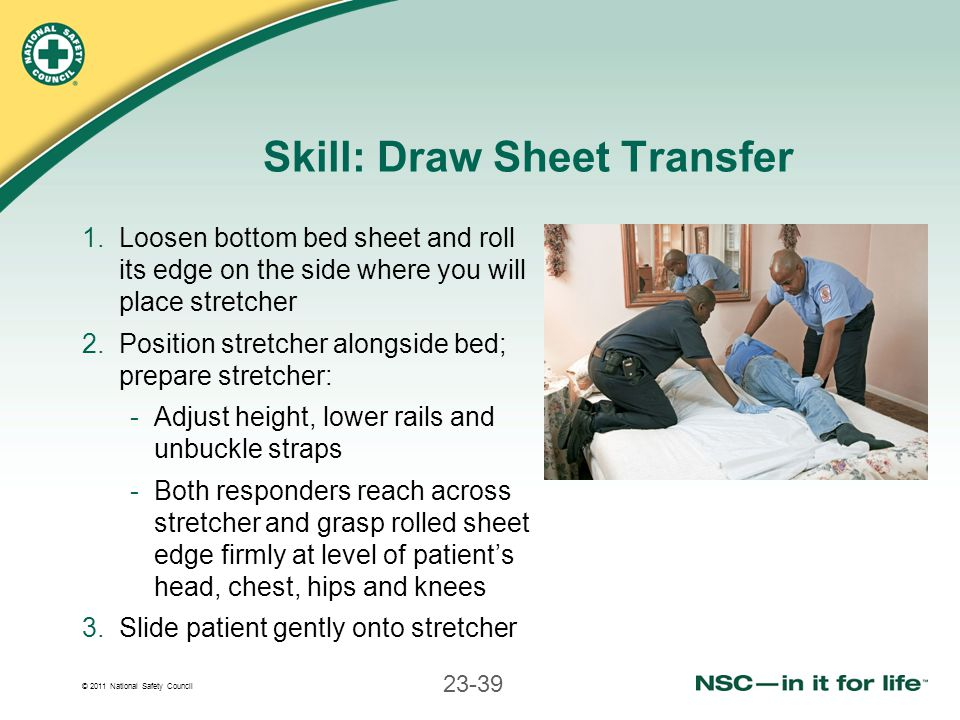 Skill: Draw Sheet Transfer