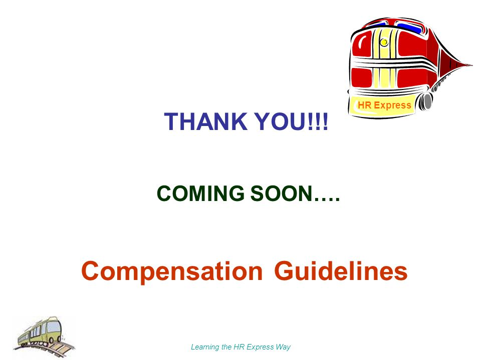 Compensation Guidelines