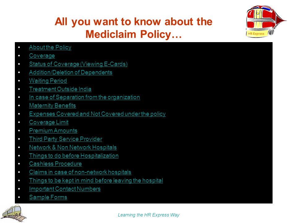 All you want to know about the Mediclaim Policy…