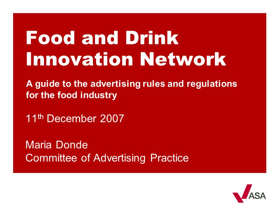 Food and Drink Innovation Network