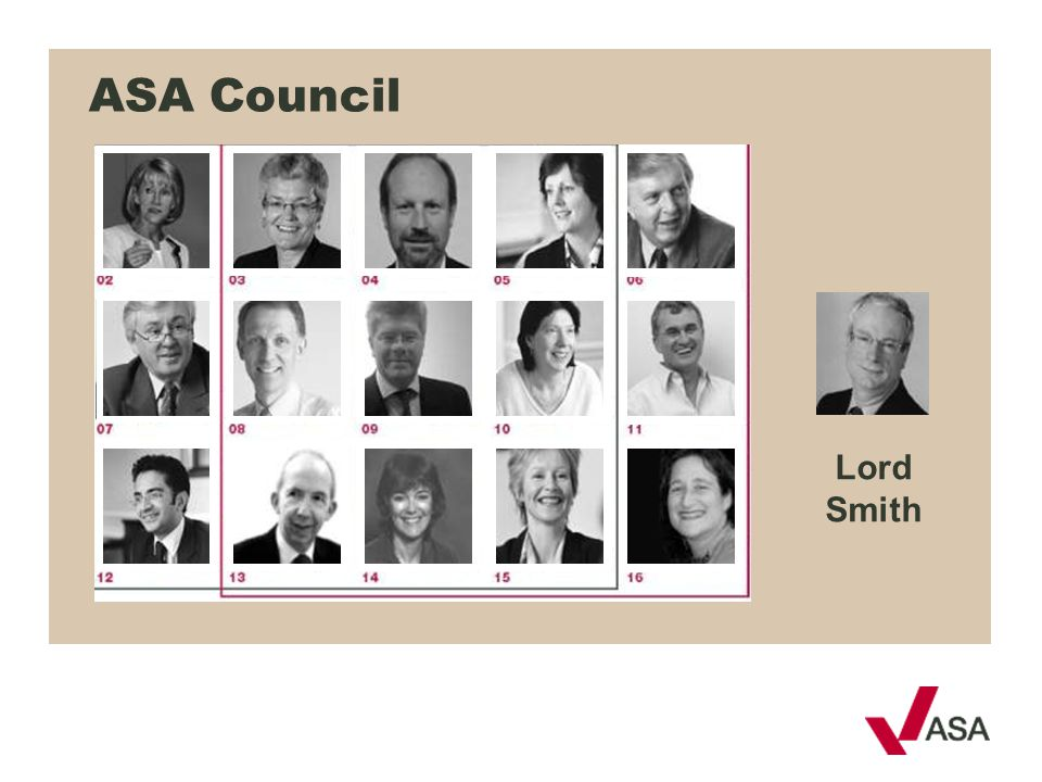 ASA Council Lord Smith