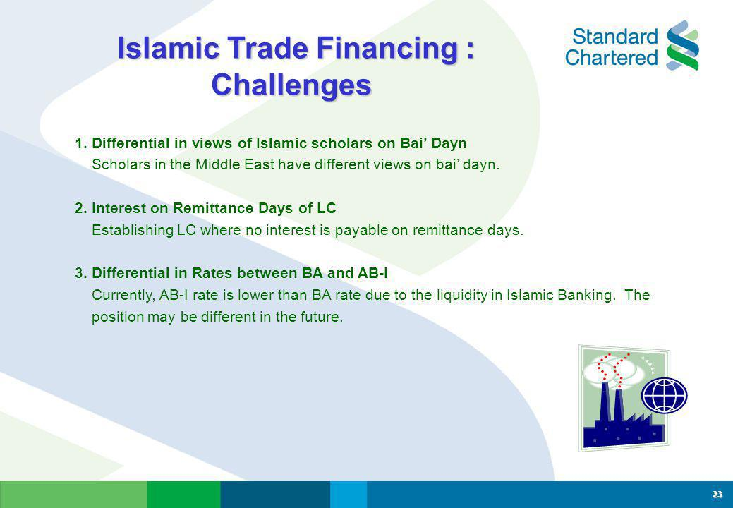 Islamic Trade Financing : Challenges