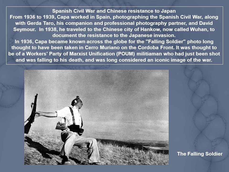 Spanish Civil War and Chinese resistance to Japan
