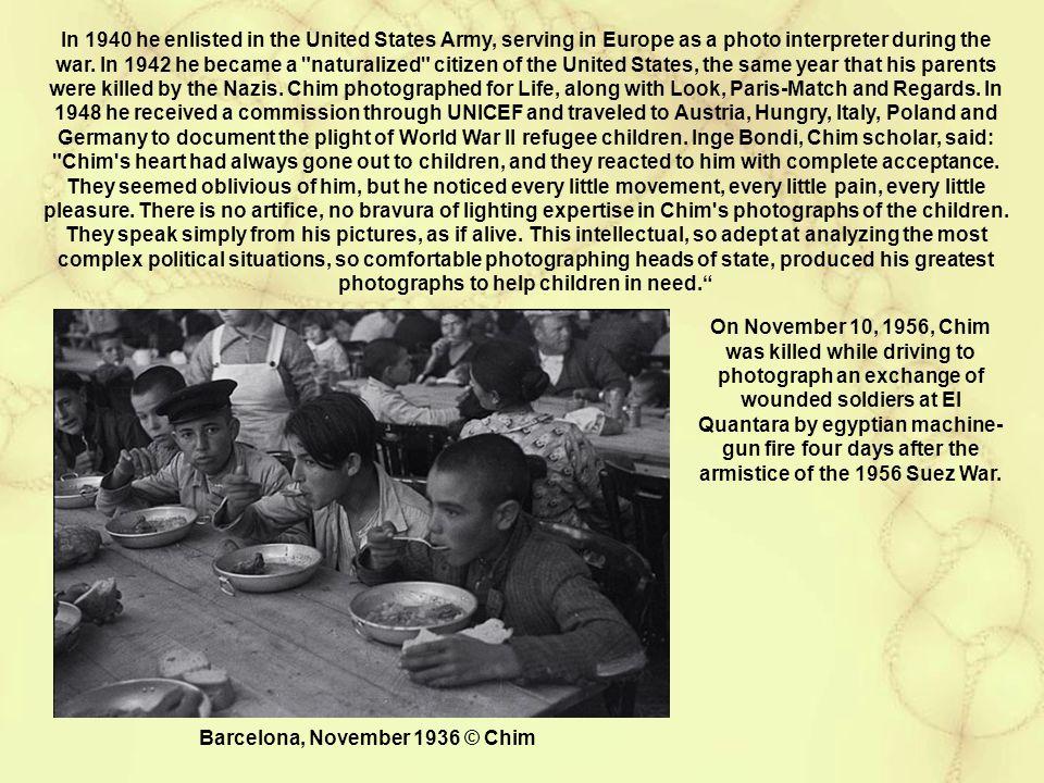 Barcelona, November 1936 © Chim