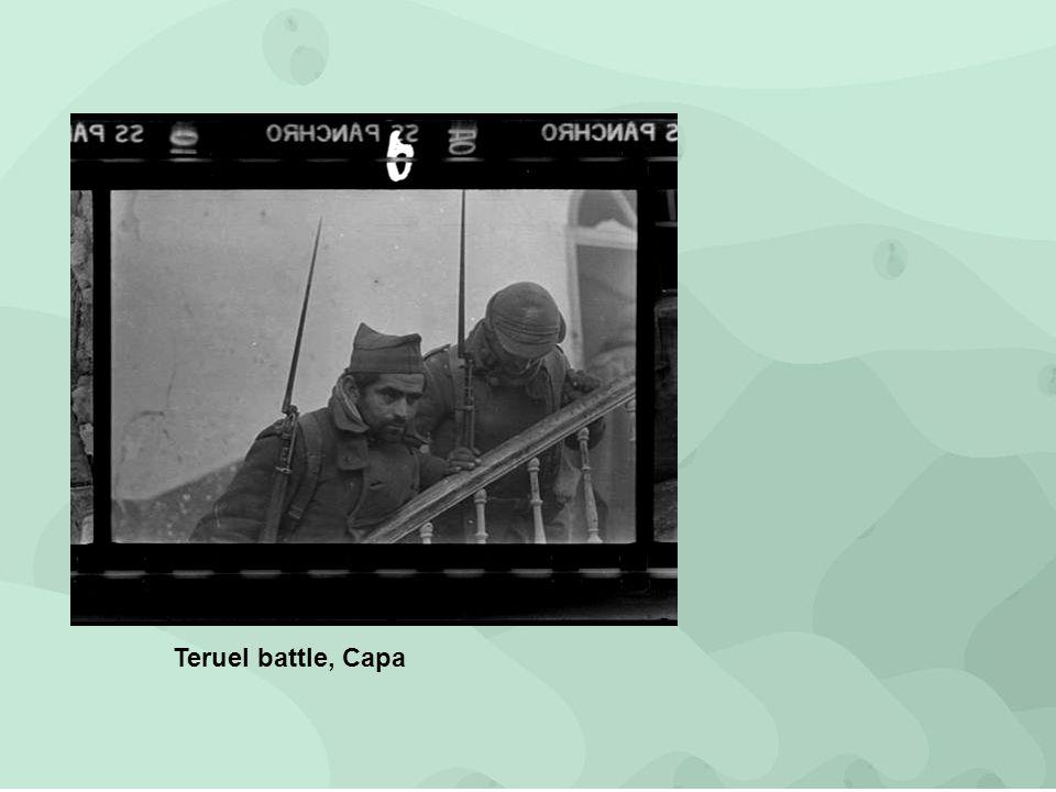 Teruel battle, Capa