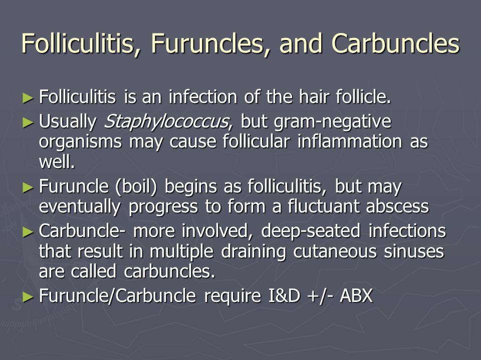 Folliculitis, Furuncles, and Carbuncles