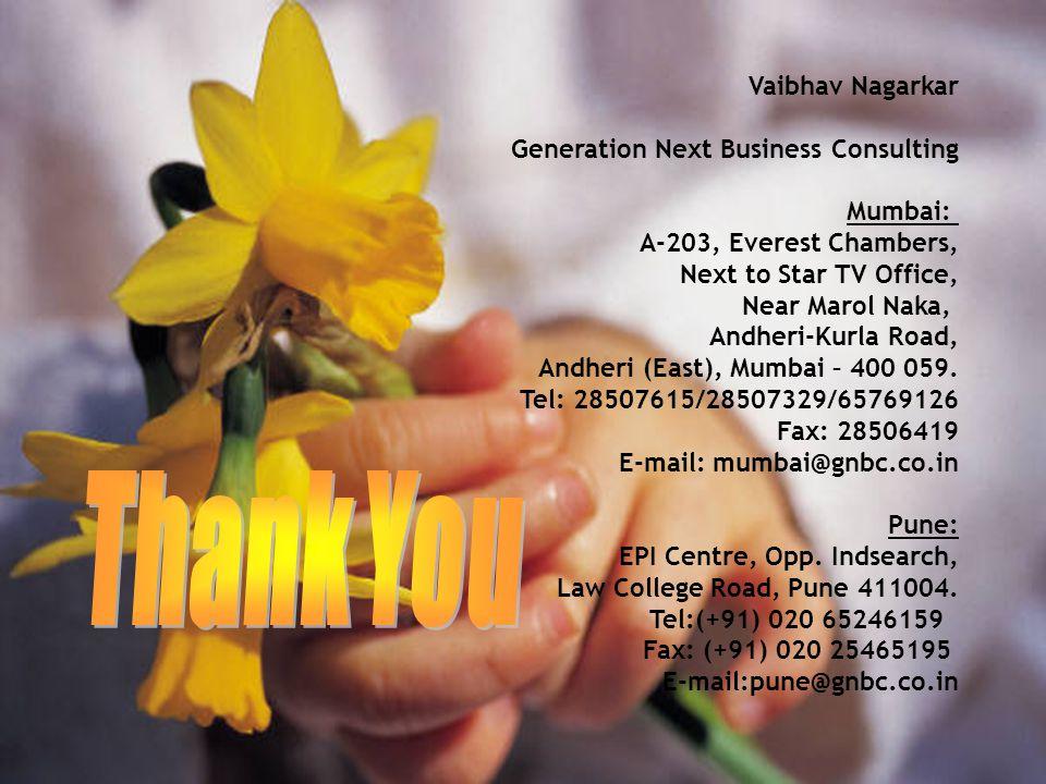 Thank You Thank You Vaibhav Nagarkar