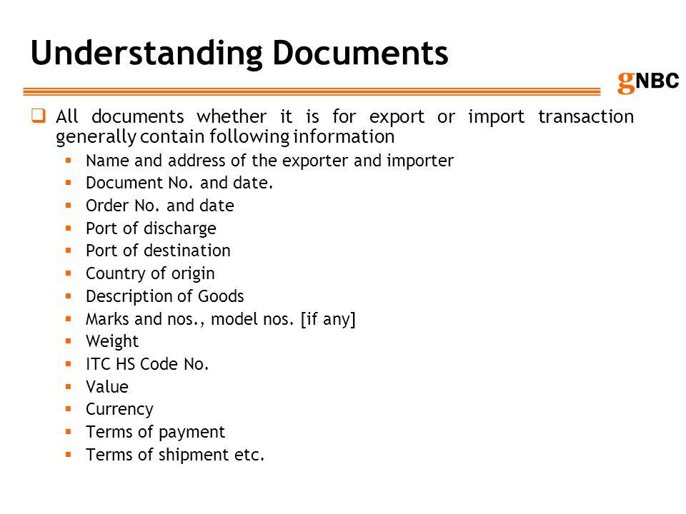 Understanding Documents