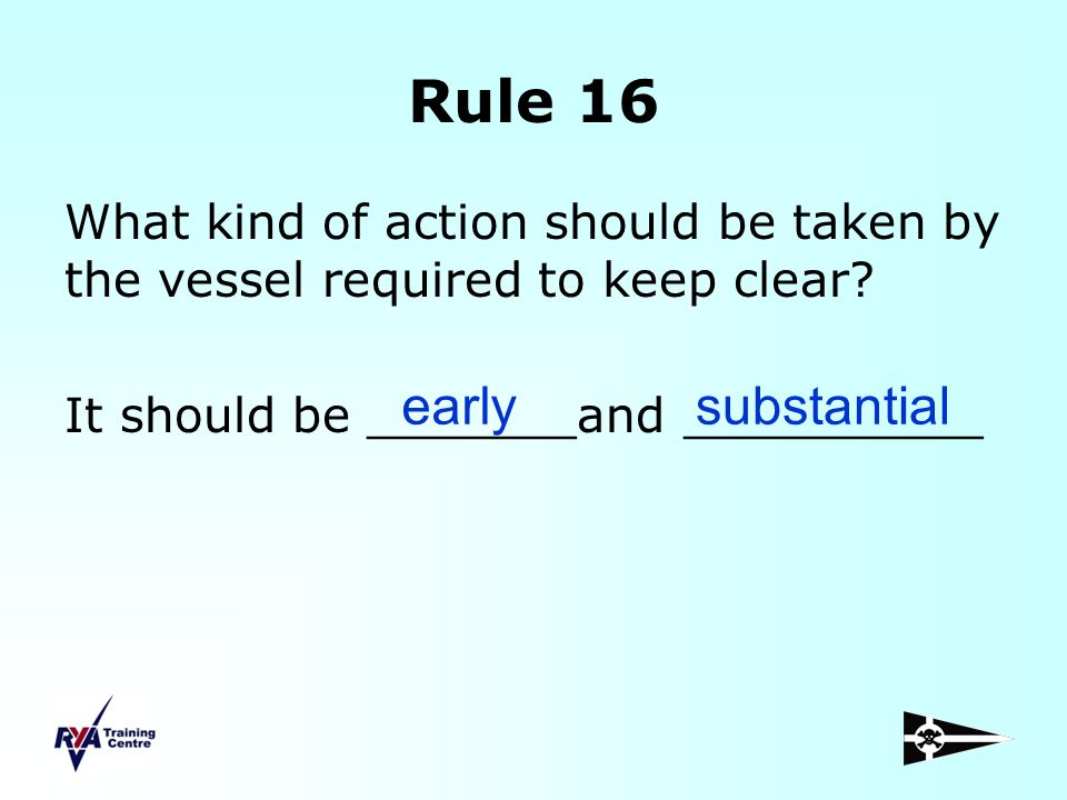 Rule 16 early substantial