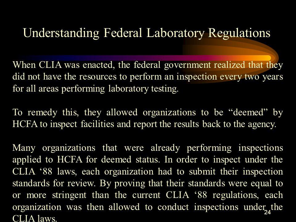 Understanding Federal Laboratory Regulations