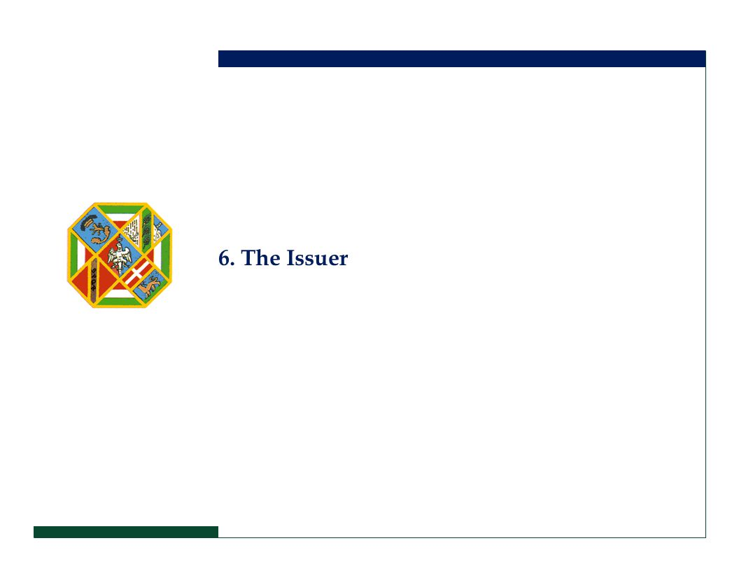6. The Issuer