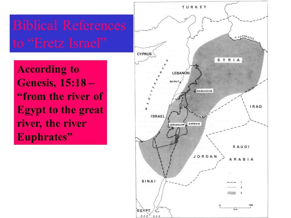 Biblical References to Eretz Israel