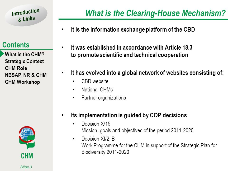 What is the Clearing-House Mechanism