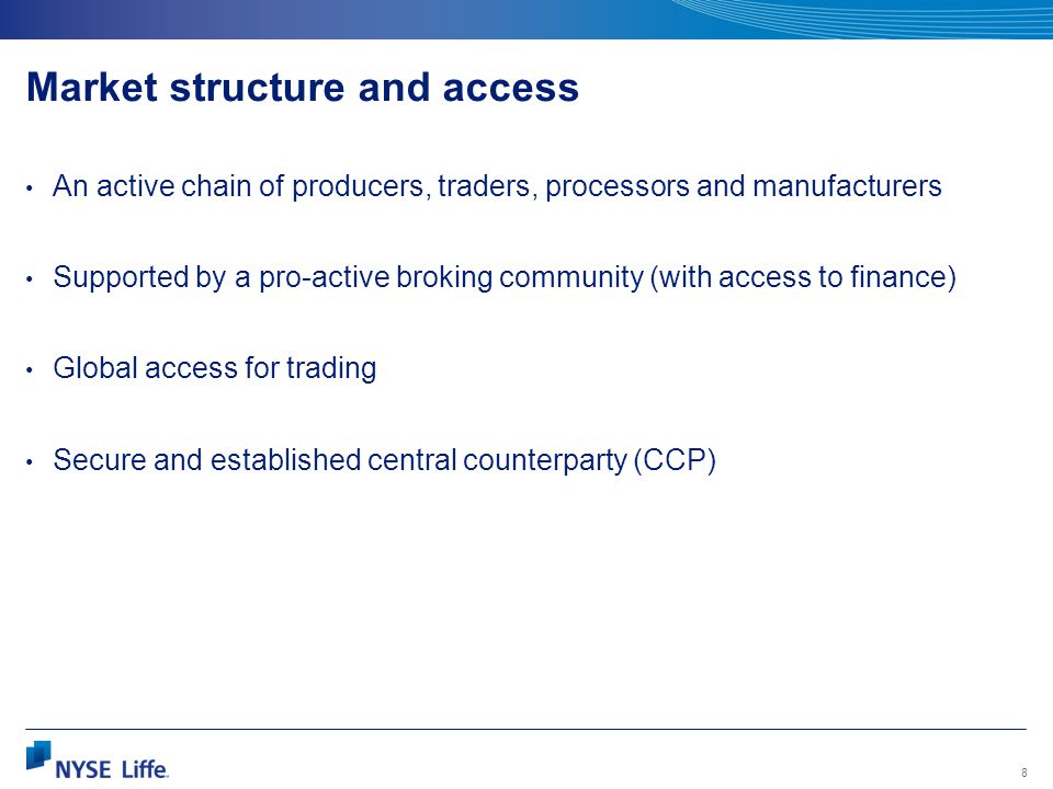 Market structure and access