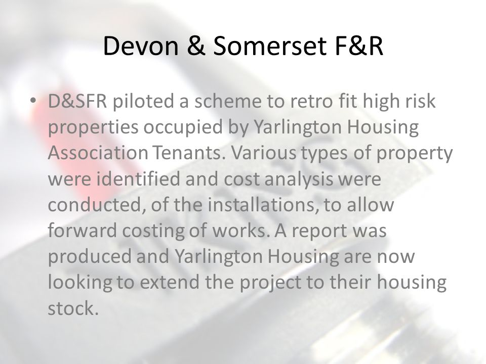 Devon & Somerset F&R