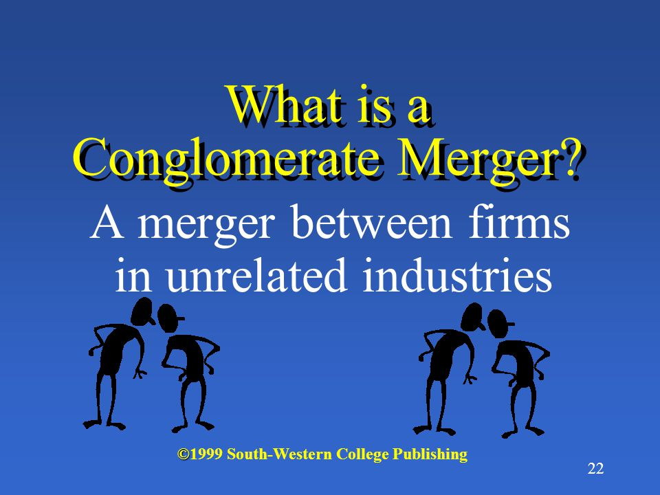 What is a Conglomerate Merger