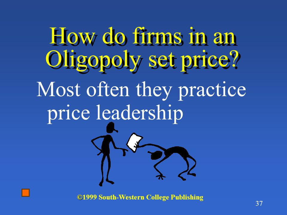 How do firms in an Oligopoly set price