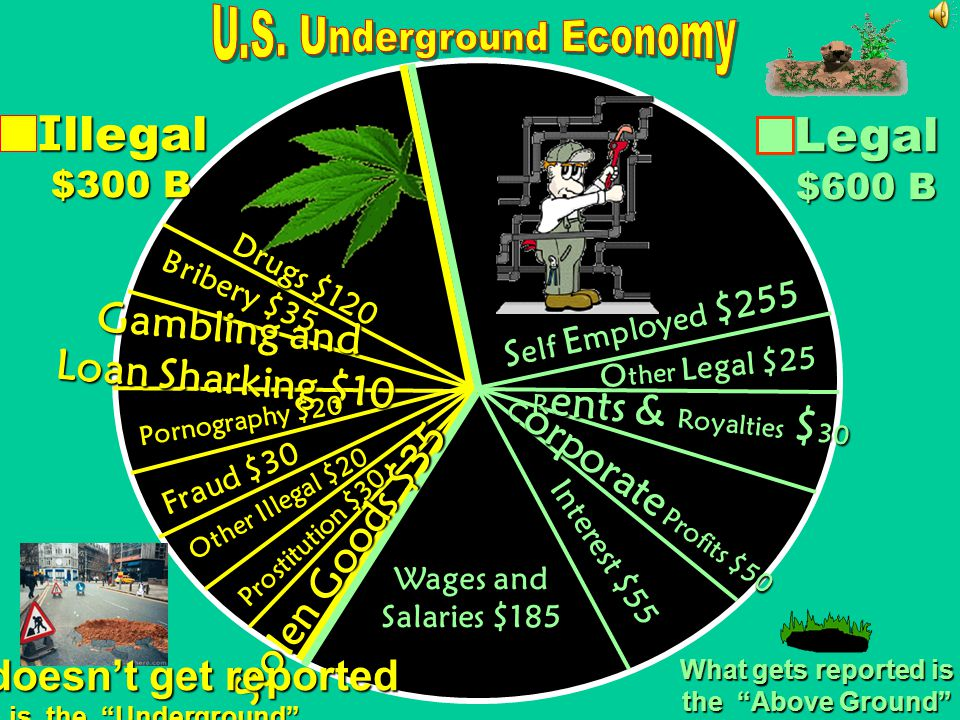 U.S. Underground Economy What doesn't get reported