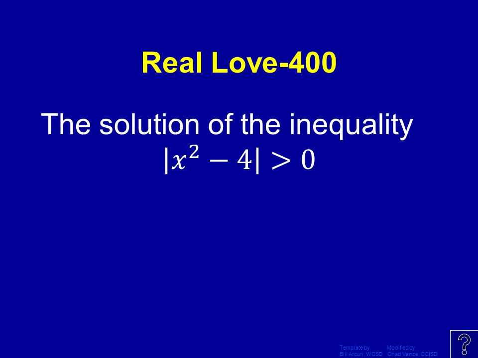 The solution of the inequality 𝑥 2 −4 >0
