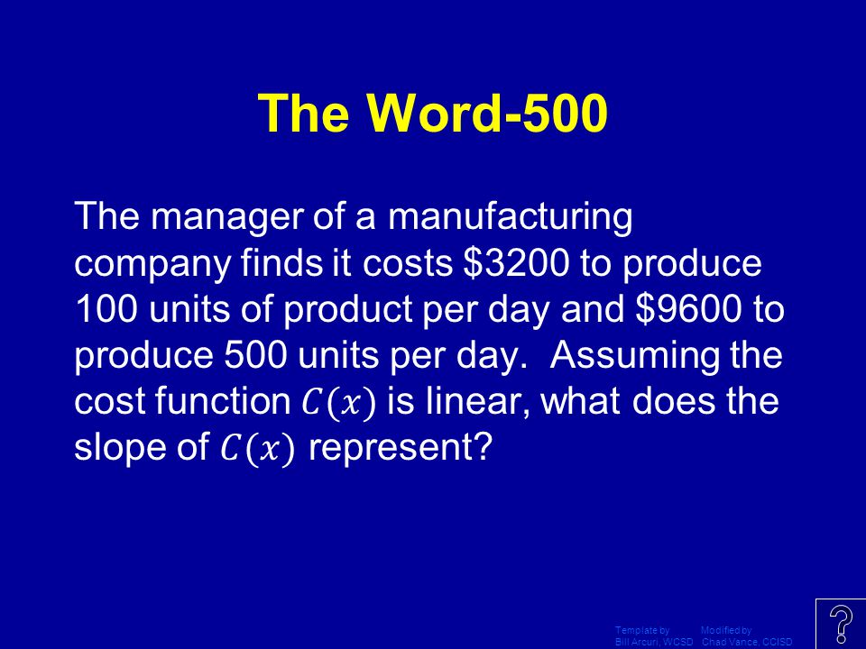 The Word-500