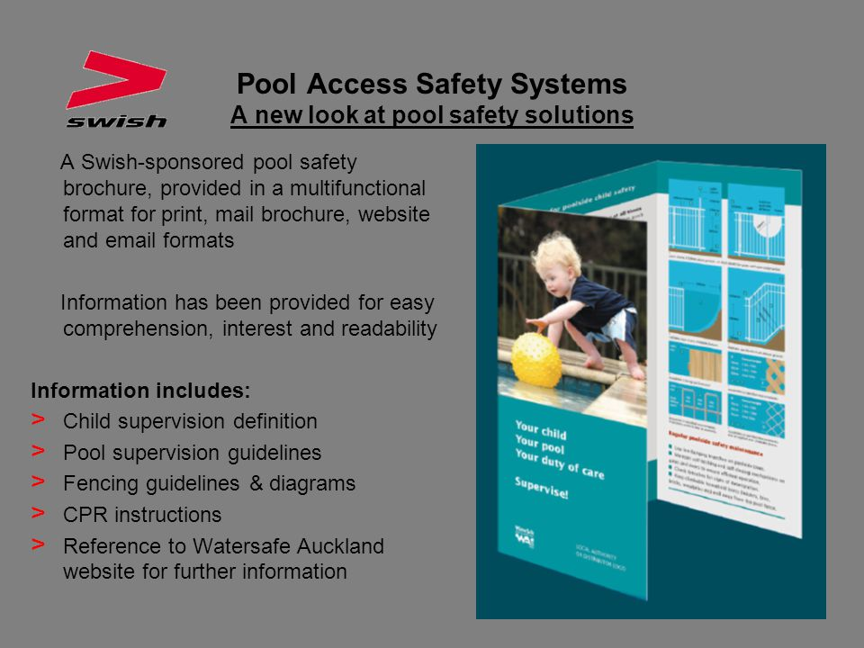 Pool Access Safety Systems A new look at pool safety solutions
