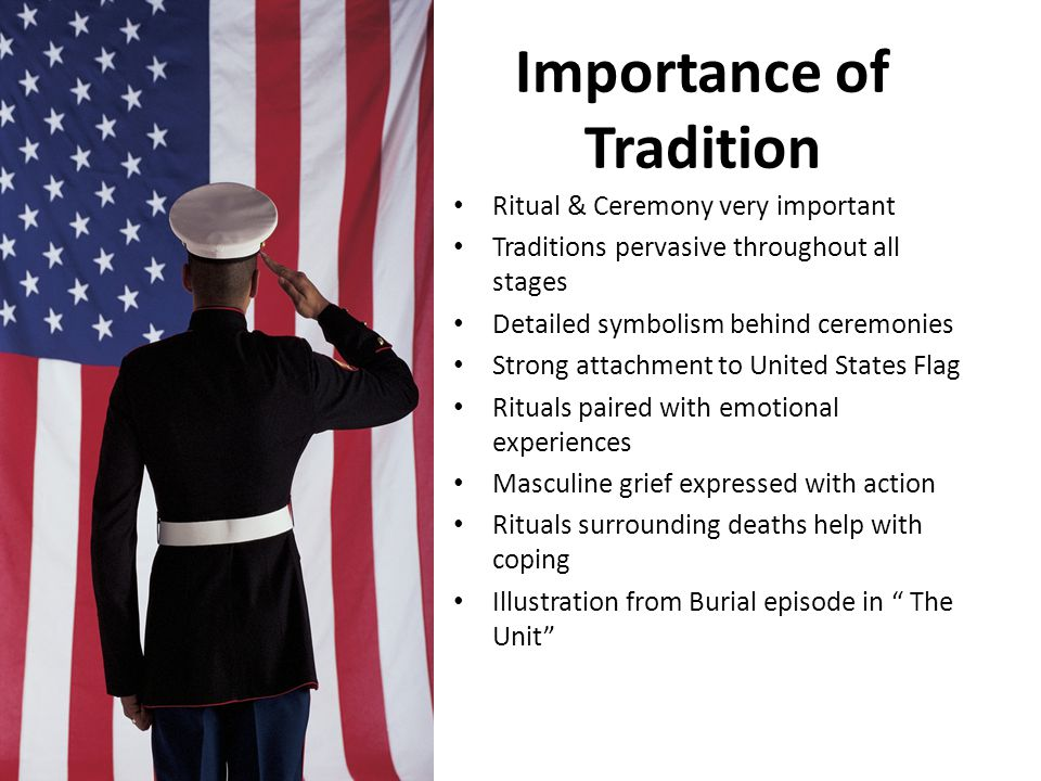 Importance of Tradition