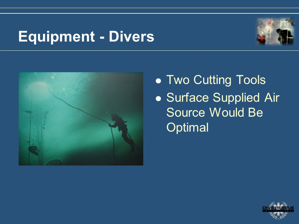 Equipment - Divers Two Cutting Tools