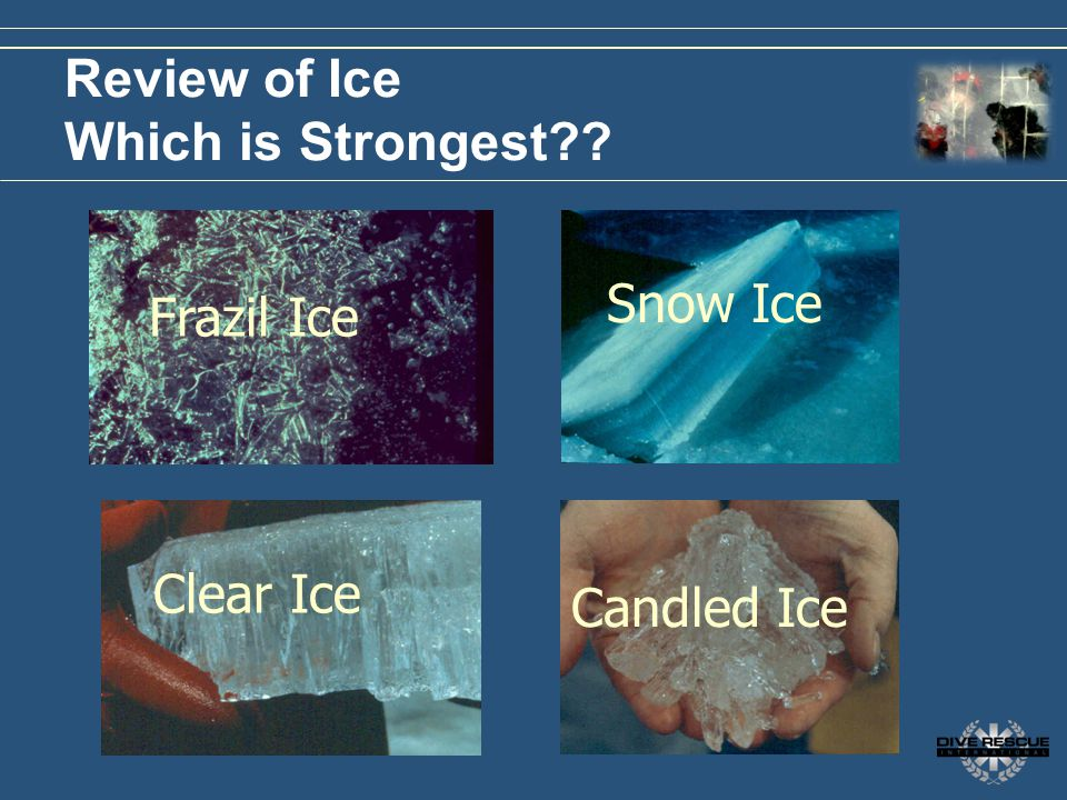 Review of Ice Which is Strongest