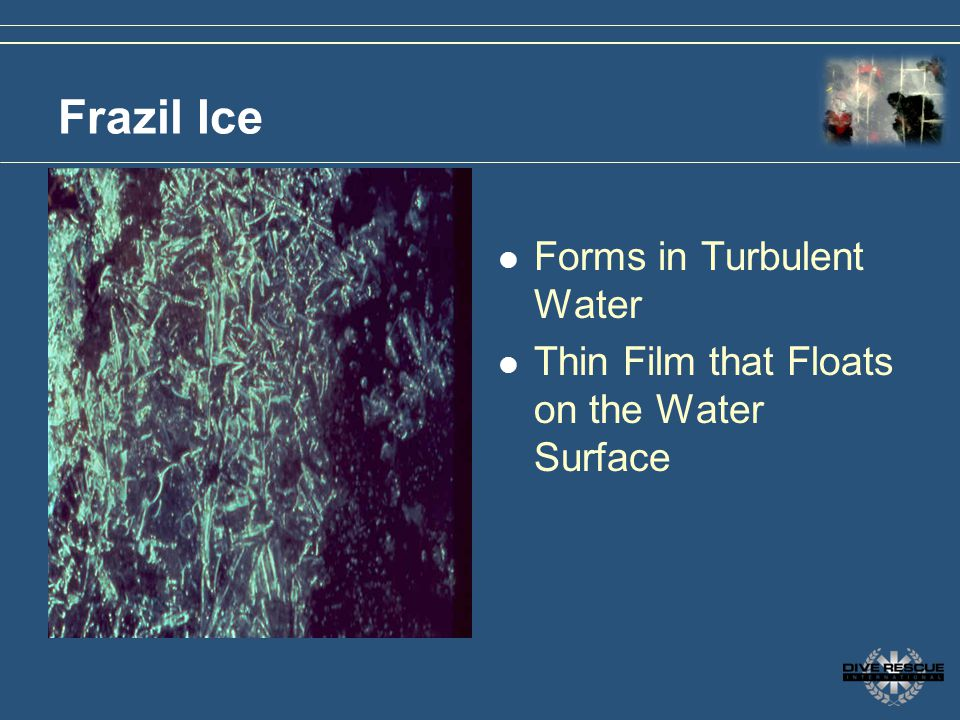 Frazil Ice Forms in Turbulent Water