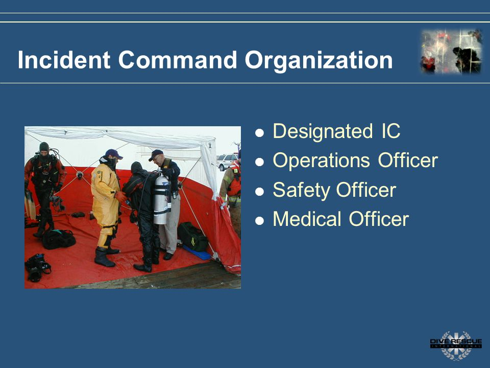 Incident Command Organization