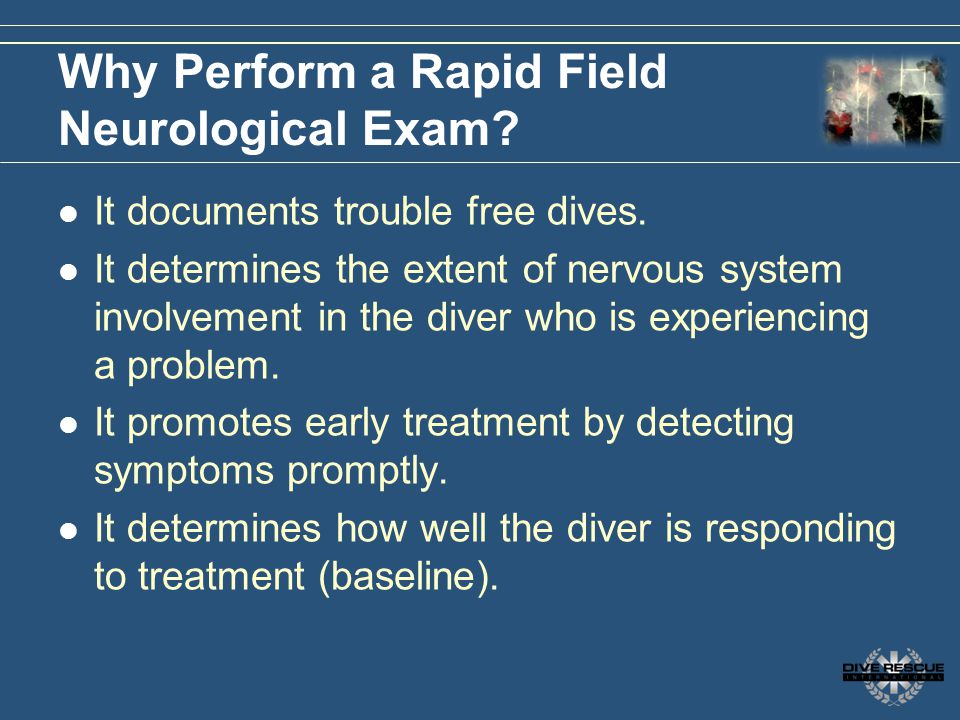 Why Perform a Rapid Field Neurological Exam
