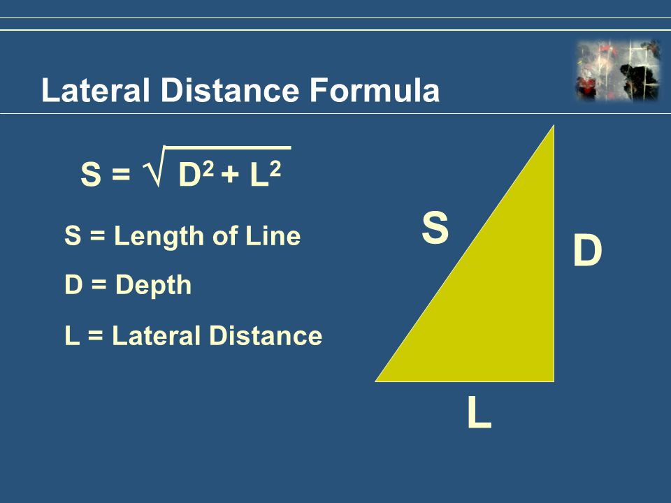 Lateral Distance Formula