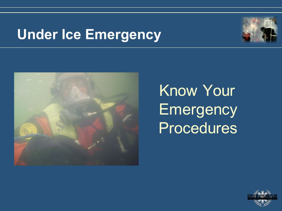 Know Your Emergency Procedures