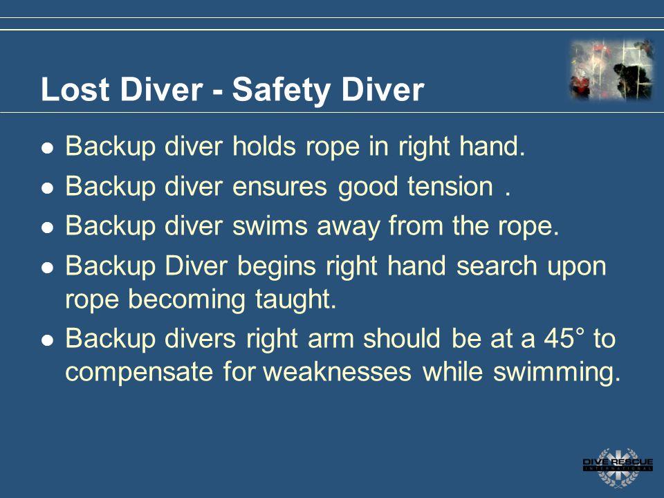 Lost Diver - Safety Diver