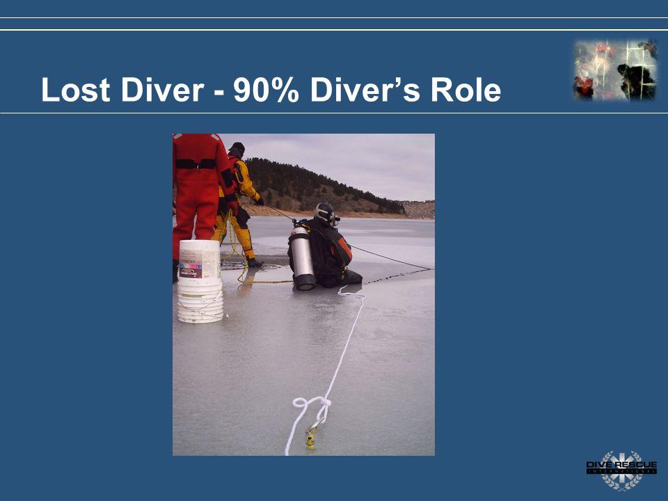 Lost Diver - 90% Diver's Role
