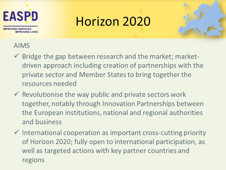 Horizon 2020 AIMS.