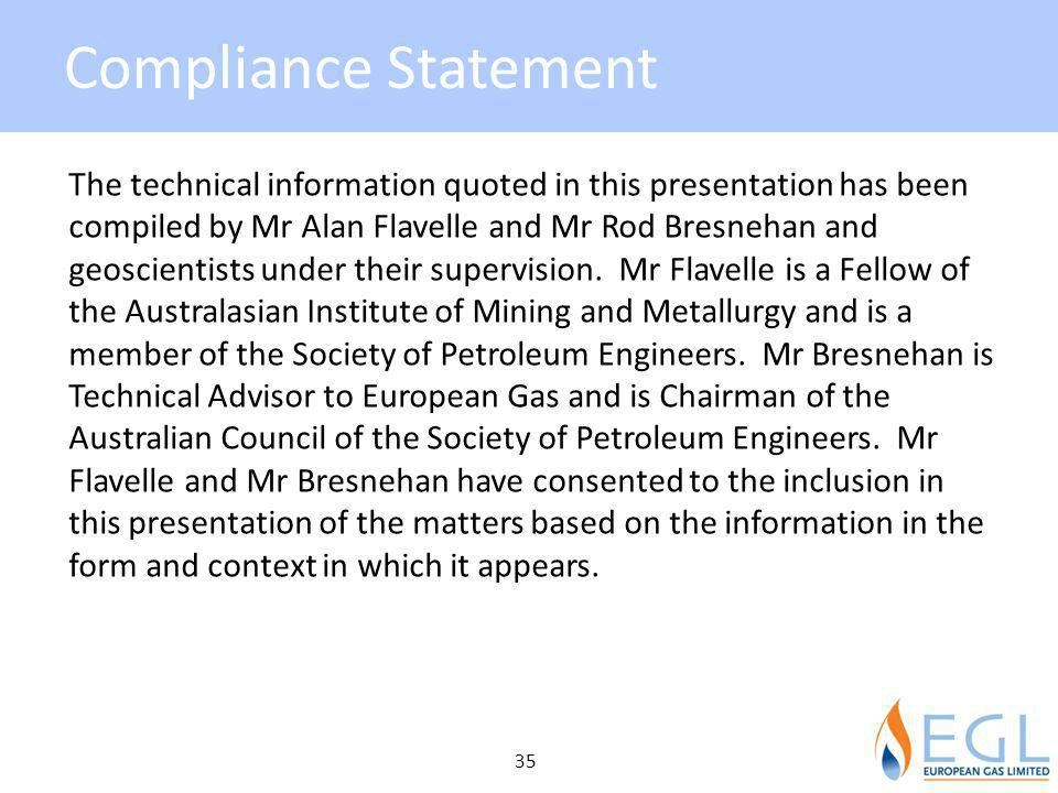 Compliance Statement