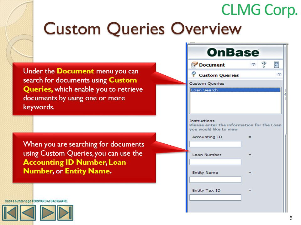 Custom Queries Overview