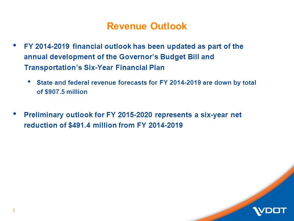 Revenue Outlook