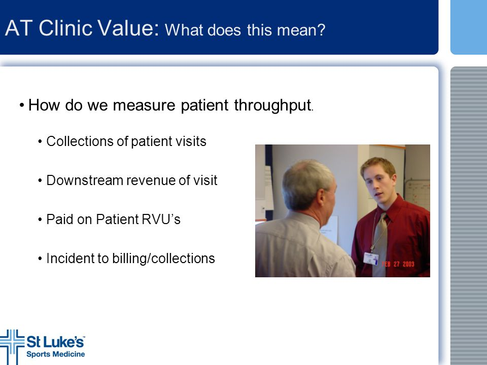 AT Clinic Value: What does this mean