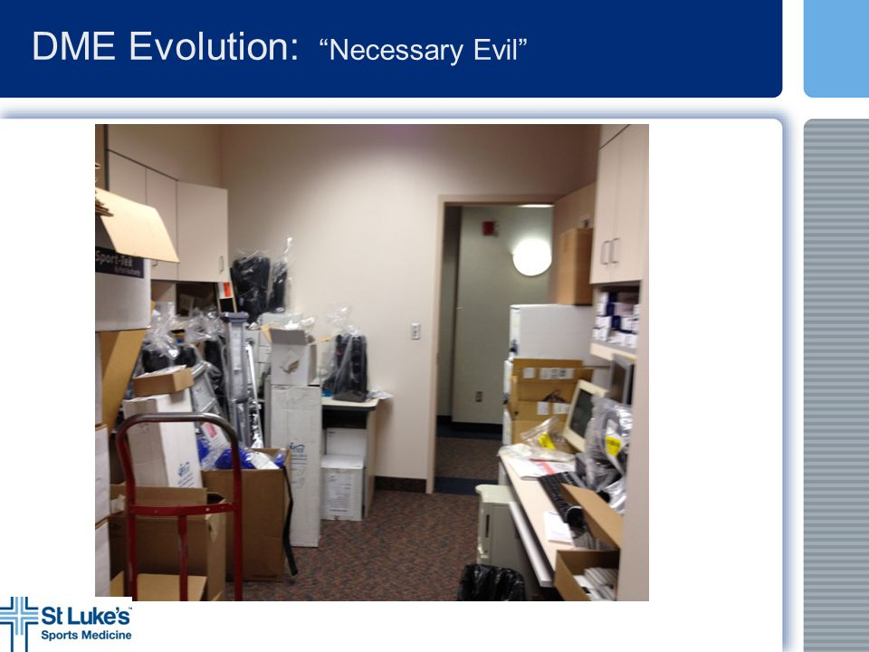 DME Evolution: Necessary Evil