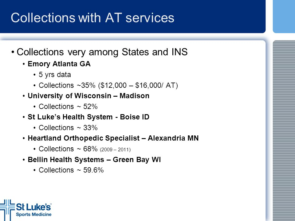 Collections with AT services