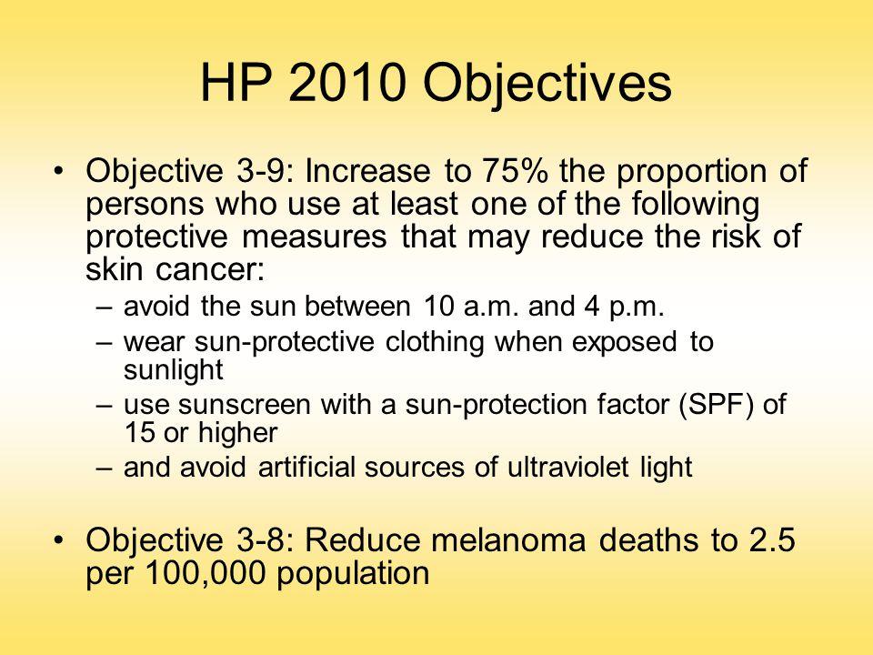 HP 2010 Objectives