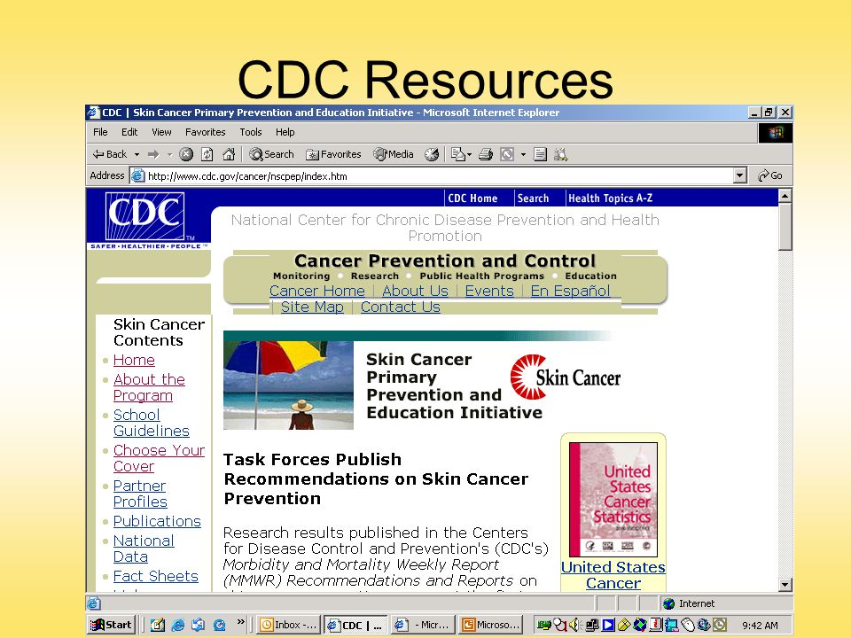 CDC Resources