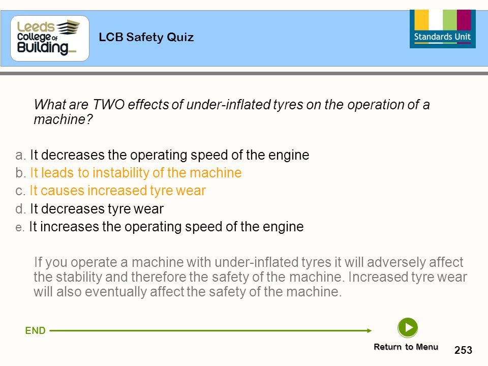 a. It decreases the operating speed of the engine