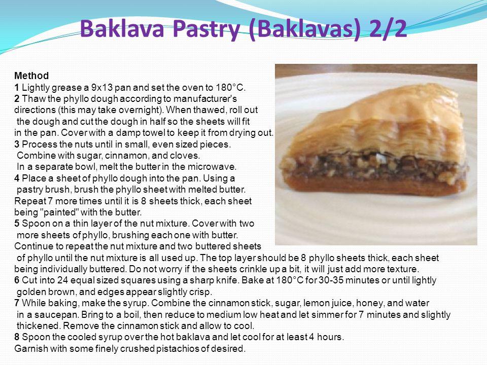 Baklava Pastry (Baklavas) 2/2